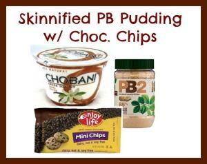 skinny pb pudding